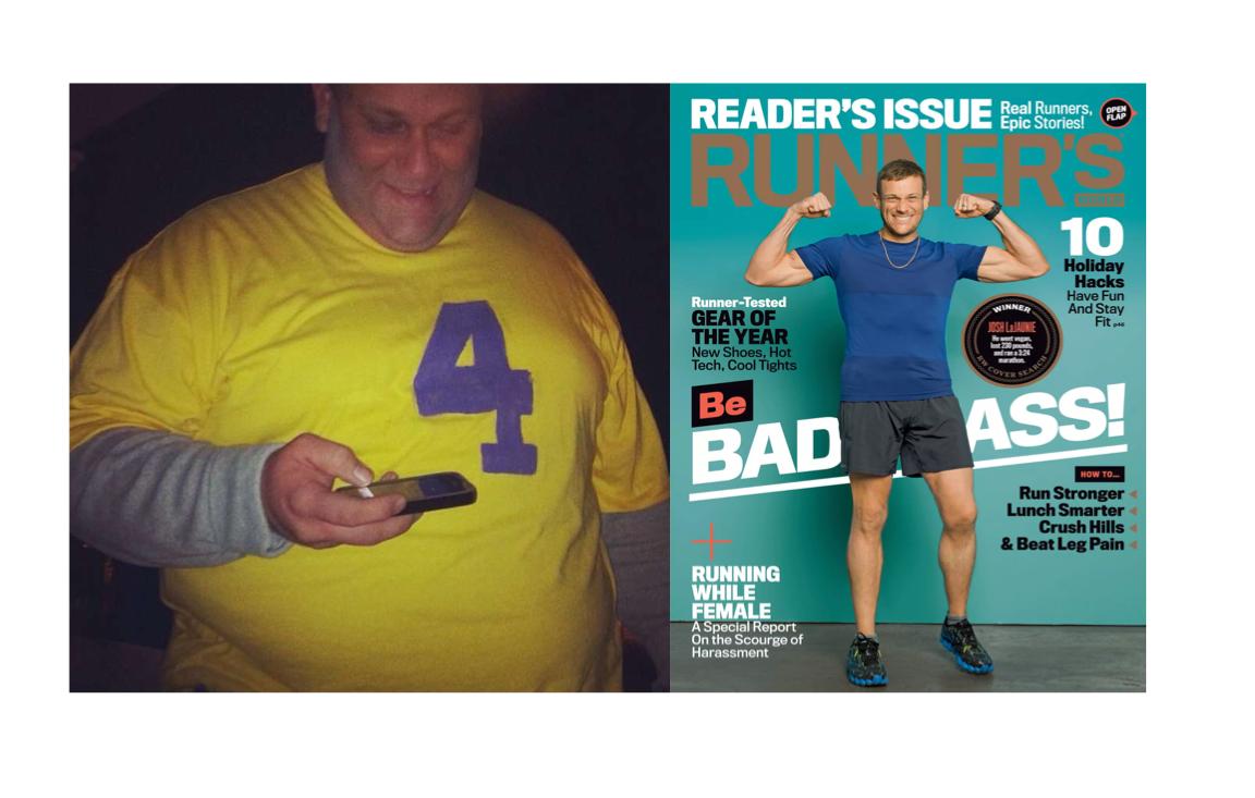 Josh LaJaunie weight loss transformation